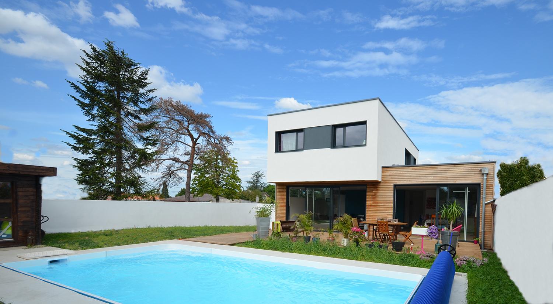 conception maison par l'architecte Bruno Auger (Maulévrier)