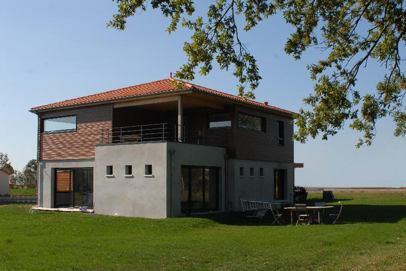 maison avec étage ossature-bois