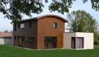 Maison ossature bois et briques Pouzauges