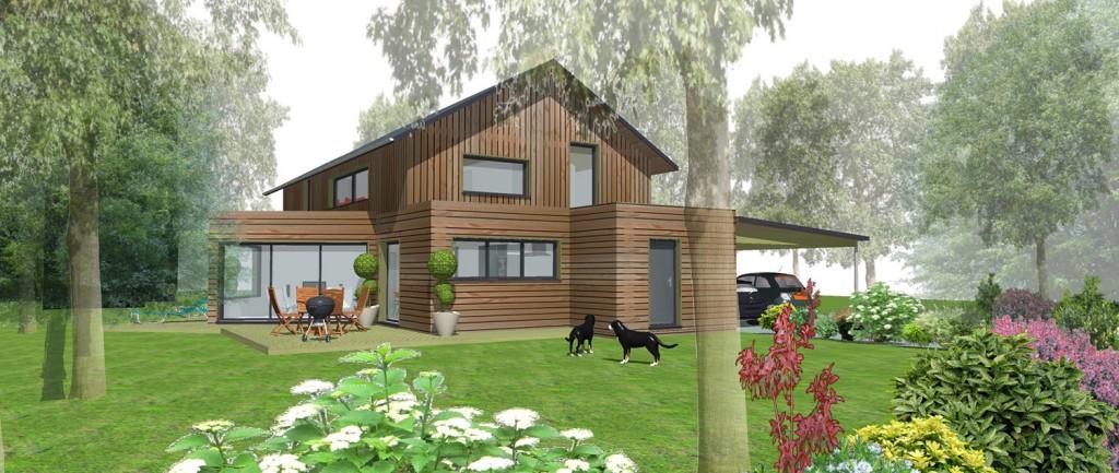 avant projet maison ossature bois