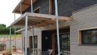Maison à ossature bois ext CHEMILLE 49