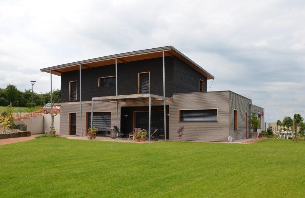 Maison ossature bois ext CHEMILLE 49