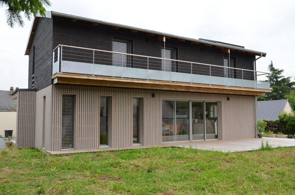 Maison individuelle bois MURS ERIGNE 49 BRUNO AUGER 2
