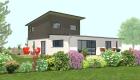 Construction maison bois, SARL AUGER, Cholet, Maine et Loire, Maître d'œuvre, architecture bois, Maulévrier, Plan maison, BODIN JADAUD, LA VERRIE 85
