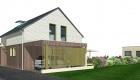 Construction maison bois, SARL AUGER, Cholet, Maine et Loire, Maître d'œuvre, architecture bois, Maulévrier, Plan maison, LEMEUX, LE LION D'ANGERS 49