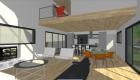 Construction maison bois, SARL AUGER, Cholet, Maine et Loire, Maître d'œuvre, architecture bois, MAULEVRIER, Plan maison, MAHE, CHOLET 49