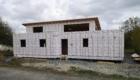 Construction maison bois SUR PIEUX, SARL AUGER, Cholet, Maine et Loire, Maître d'œuvre, architecture bois, Maulévrier, Plan maison LA SAINT MARS DU COUTAIS 44
