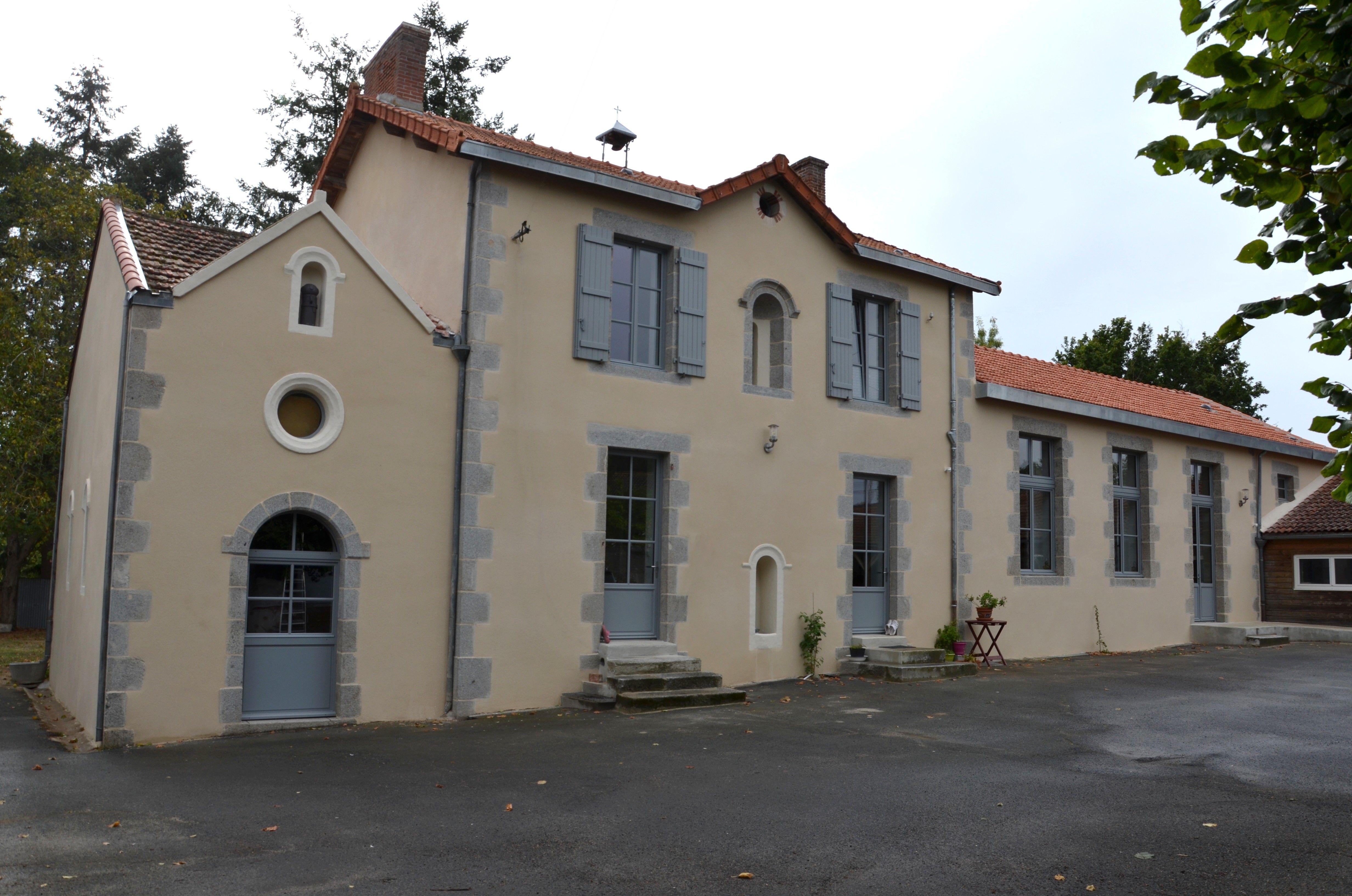 RÉNOVATION ancienne école en habitation et chambres d'hôtes